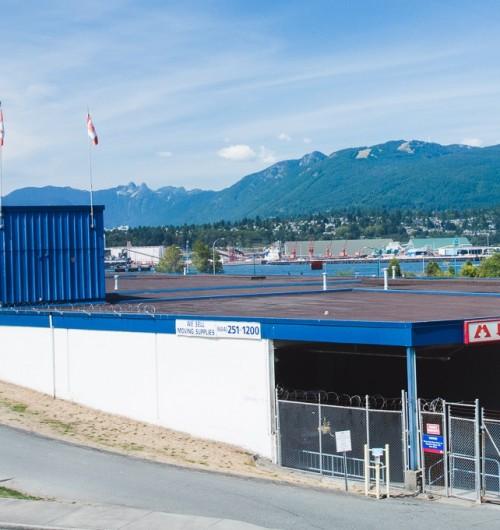 Self Storage Vancouver Wall