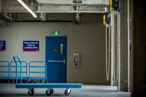 Calgary East Sunridge - Loading Bay with Carts