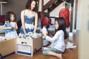 Packing toys Self Storage Box