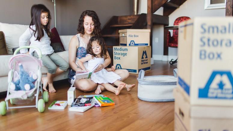 Family Self Storage Boxes