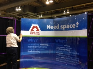 Maple Leaf Self Storage Calgary Home Design Show