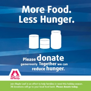 Maple Leaf Food Drive - Facebook