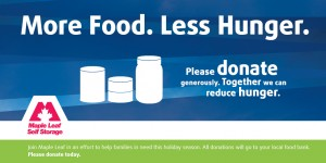 Maple Leaf Food Drive - Twitter