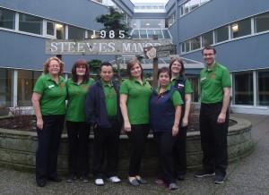 Maple Leaf Ambassadors volunteer Steeves Manor Vancouver