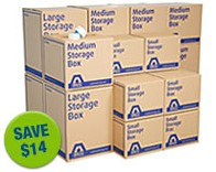 Self Storage Boxes Discount
