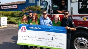 Self Storage Coquitlam Firefighters Charitable Society