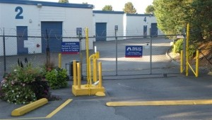 Burnaby Self Storage Entrance