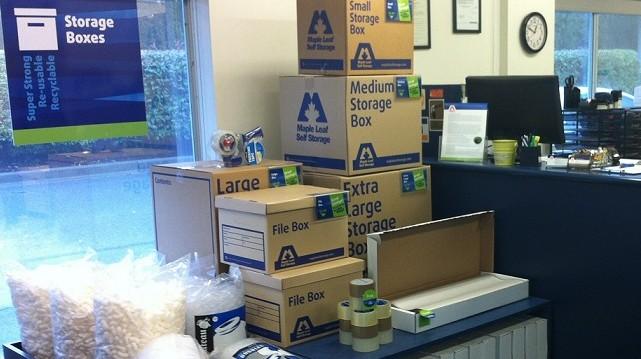 Richmond Boxes Moving Supplies