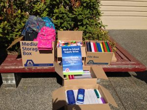 Langley School Supplier Drive 2016 - School Supplie - Notepad, crayons, highlighters, backpacks, etc. at Maple Leaf Self Storage Langley