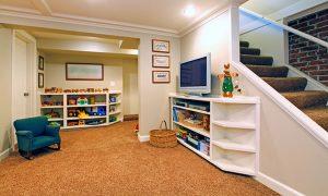 Clutter Free Basement