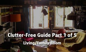Clutter Free Guide Part 1 of 5 - Living/Family Room