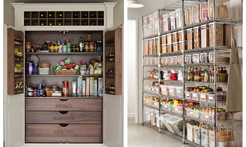 Clutter Free Ideas - Pantry