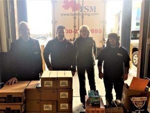 Maple Leaf Self Storage Calgary with TSM