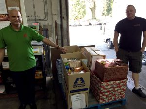 Maple Leaf Self Storage at Greater Vancouver Food Bank