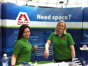 Debbie & Kelly at Vancouver Home + Garden Show