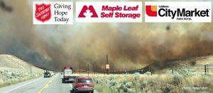 Maple Leaf Storage BC Wild Fire Disaster Supplies Donation