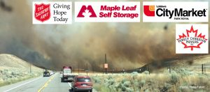 Maple Leaf Storage BC Wild Fire Disaster Supplies Donation