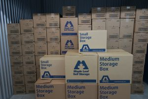 Baby Supplies in Maple Leaf Self Storage