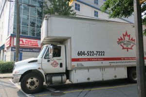 Purely Canadian Movers moving supplies
