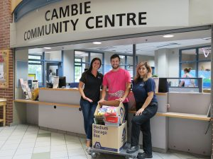 Maple Leaf Self Storage School Supply Drive - Cambie Community Centre Drop off