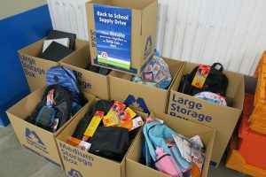 Maple Leaf Self Storage School Supply Drive - For Coquitlam Fire Fighters