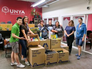 Maple Leaf Self Storage School Supply Drive - Urban Native Youth Association Drop off