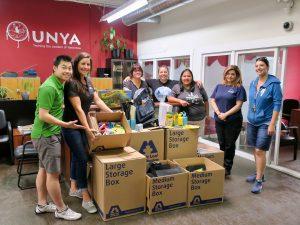 Maple Leaf Self Storage School Supply Drive - Urban Native Youth Association Drop off