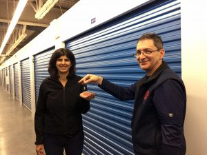 Lisha claiming Maple Leaf Storage Store and Score prizes_3