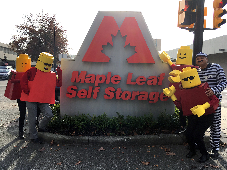 Happy Halloween From Maple Leaf Self Storage Maple Leaf