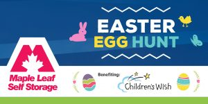 Maple Leaf Self Storage Royal Vista Easter Egg Hunt